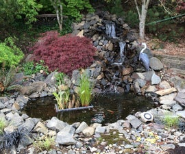 Backyard Pond and Waterfall: No Experience Necessary!