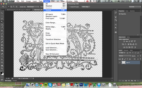 Embellishment: Photoshop to Isolate Design