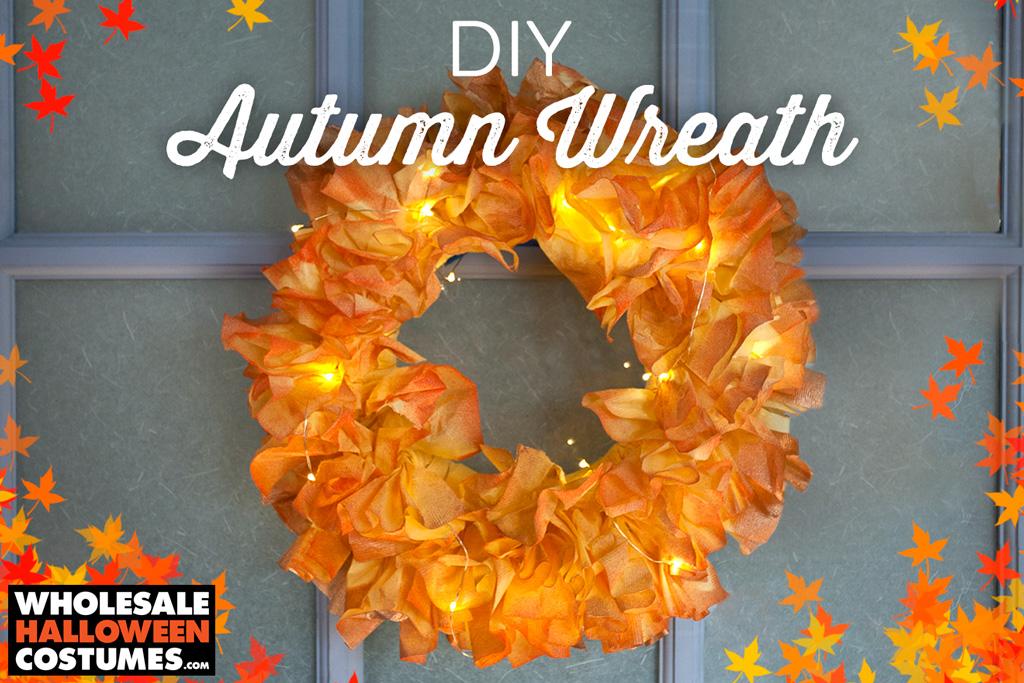 Picture of DIY Autumn Wreath - Wholesale Party Supplies