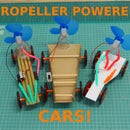 LET'S MAKE PROPELLER POWERED CARS!