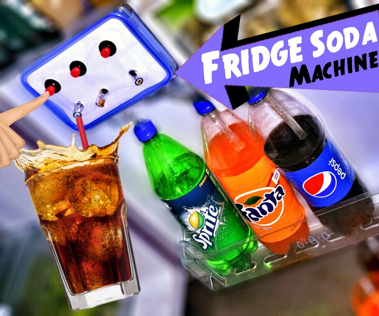 Make Coca Cola Soda Fountain Dispenser Machine At Your Home Fridge Wiring Diagram For Pepsi Sign 6 Steps With Pictures