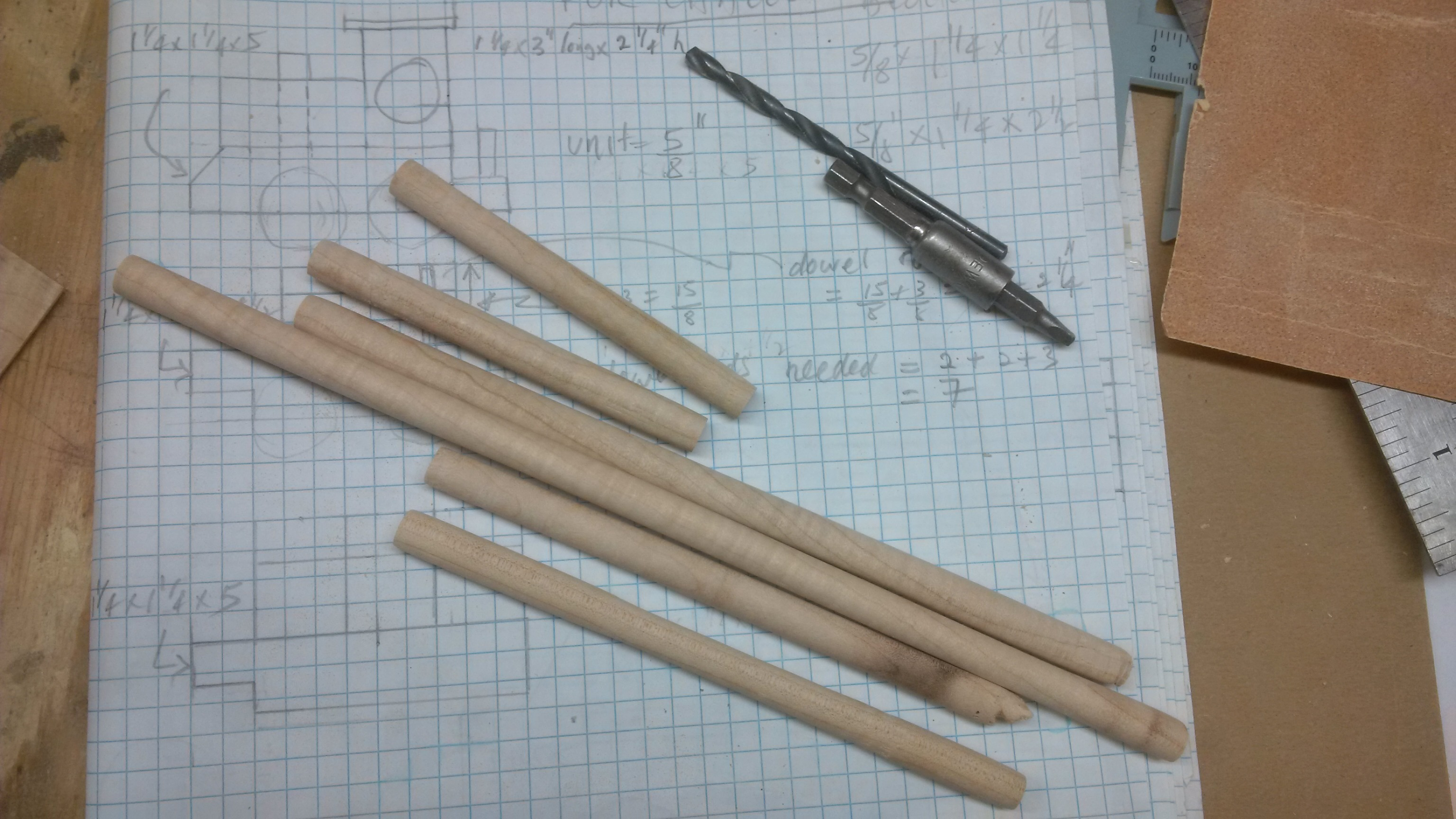 Picture of Making Dowels
