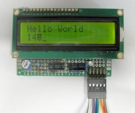 LCD Display 16x2 on 3.3V
