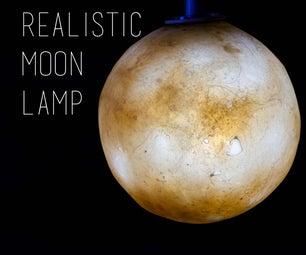 Realistic Moon Lamp