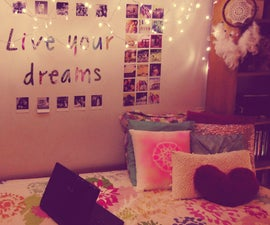 DIY Tumblr inspired room decor ideas! Easy & fun