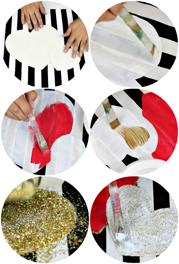 Picture of Here's How to Make the DOUBLE HEART PILLOW