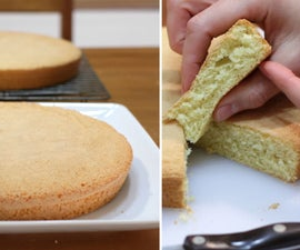 Sponge Cake (Only 3 Ingredients!)