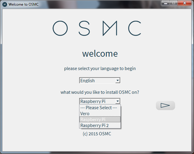 Picture of Installing OSMC on SD Card