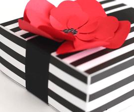 3D Cardstock Flower