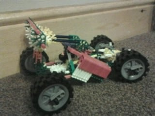 Knex Go-kart (FIRST ON THE SITE).