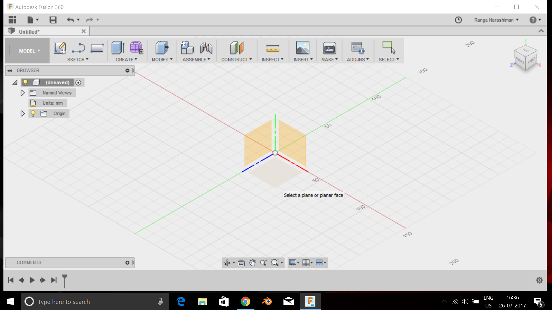Picture of Designing of the Model