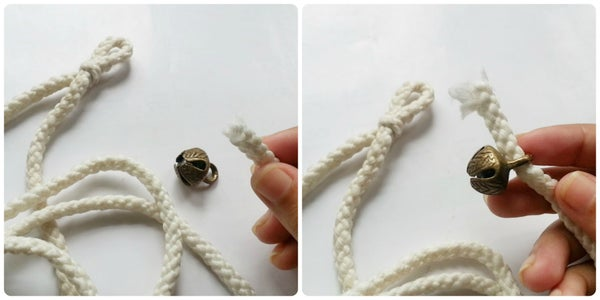 Attaching the First Ghungur Bell
