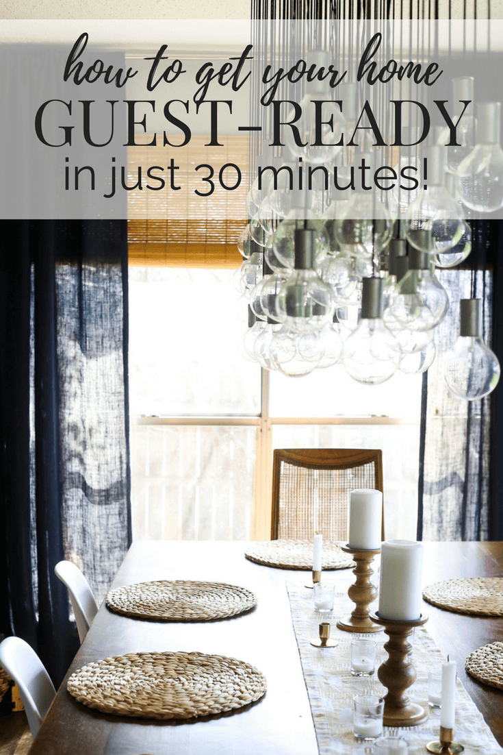Picture of Get Your Home Guest-Ready in 30 Minutes or Less