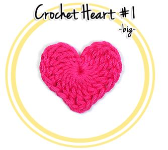 Crochet Heart #1 (big)
