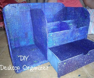 Desktop Organizer Made of Cardboard!!!