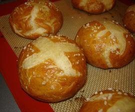Pretzel Bread