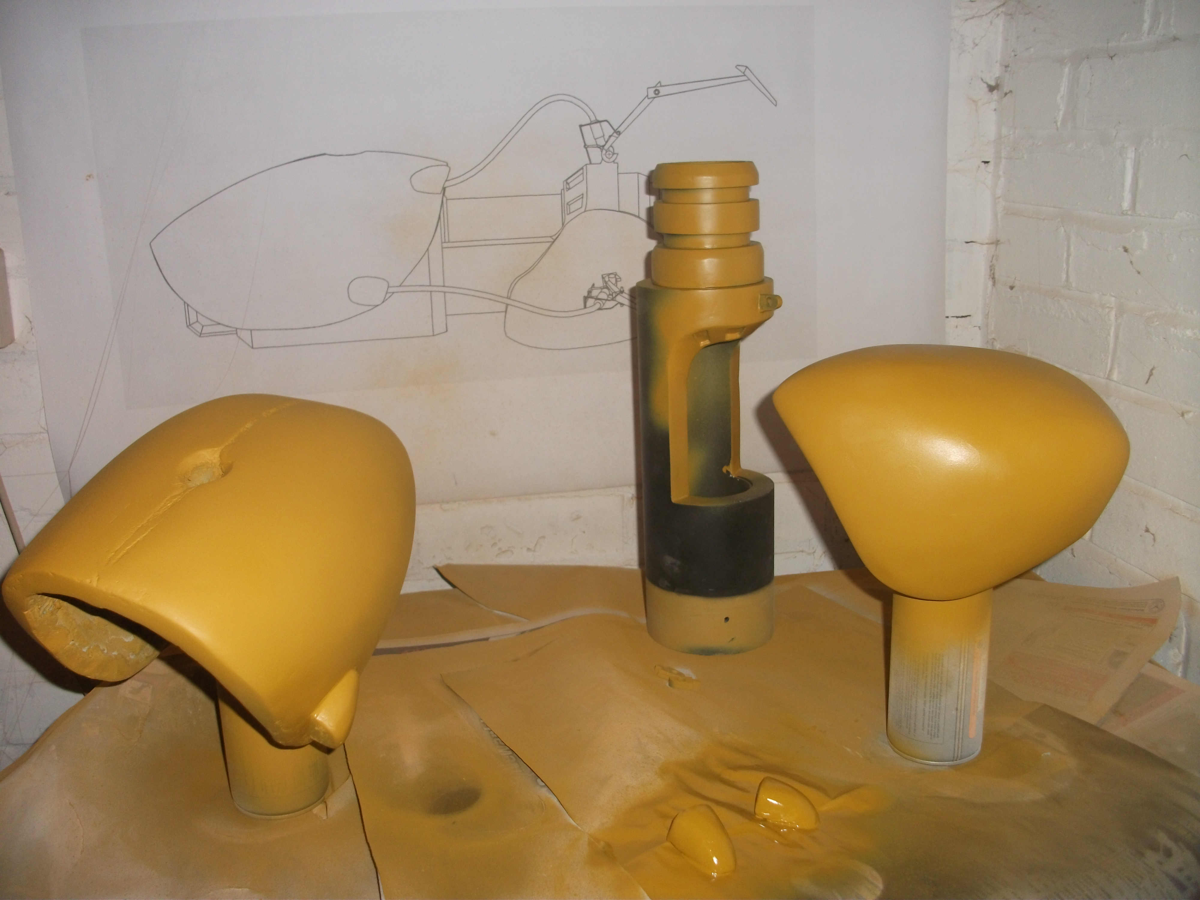Picture of Finishing the Shells.