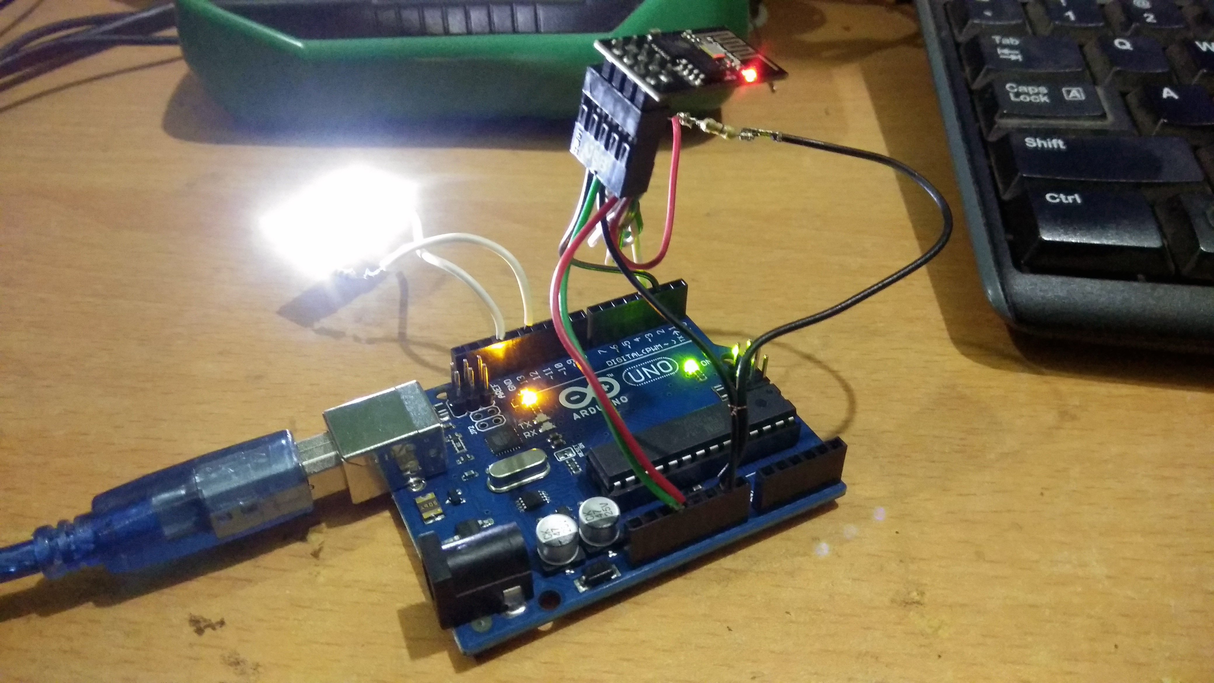 Picture of Connection With Arduino