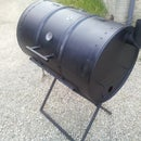 How to Make an Oil Drum BBQ Smoker