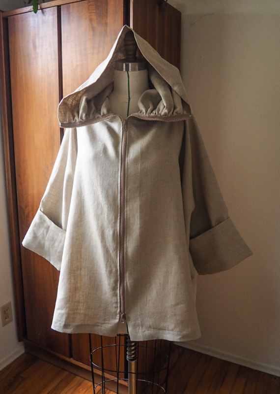 Picture of Hooded Overcoat