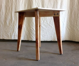 Flat Pack End Table