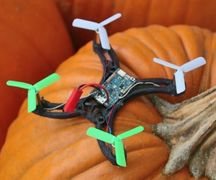 Cheap and Easy Micro Quadcopter