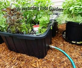 Self-watering Tote Garden