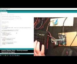 Arduino: Stepper Motor Example Sketch Fixed