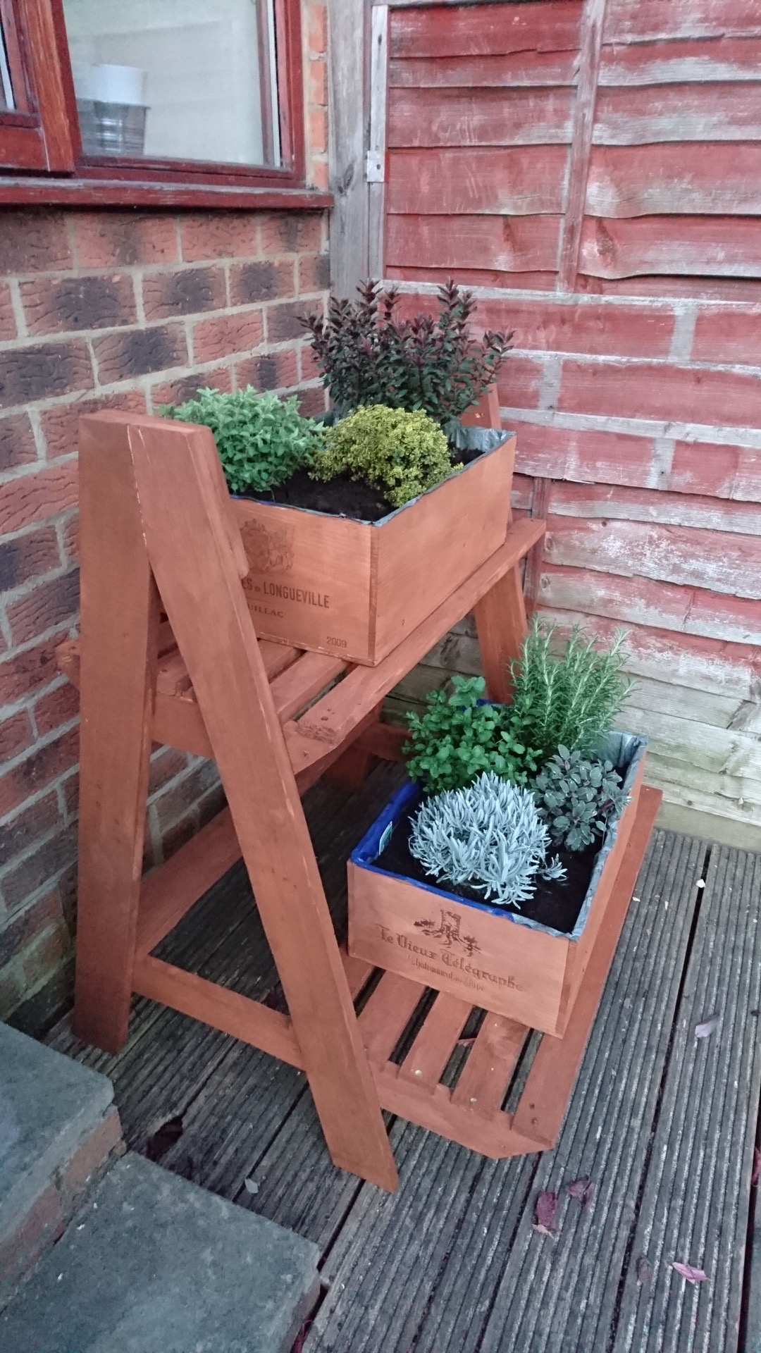 Picture of Staggered Pallet Planter
