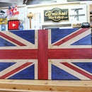 Rustic Union Jack Flag