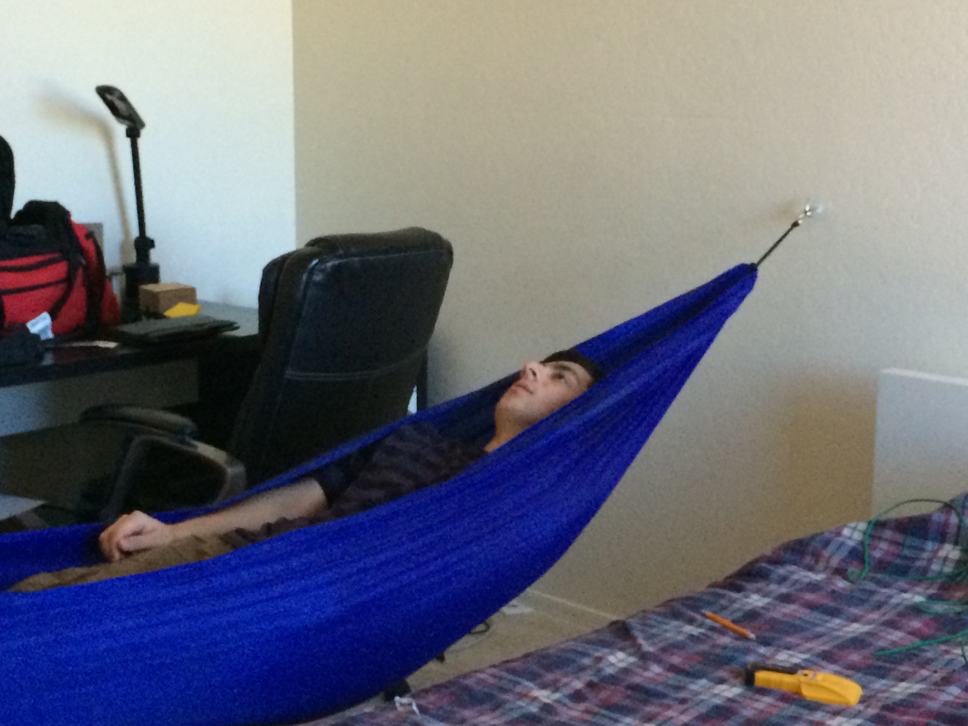 Picture of How to Hang a Hammock Indoors