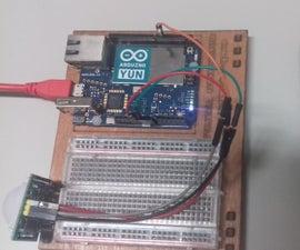 WebCam Con Arduino YUN Y PIR MOTION