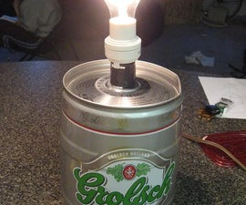 Mini Keg Touch Lamp