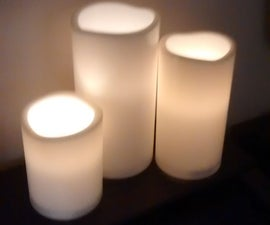 Convert Ikea LED Candle to Smart Wifi Candle