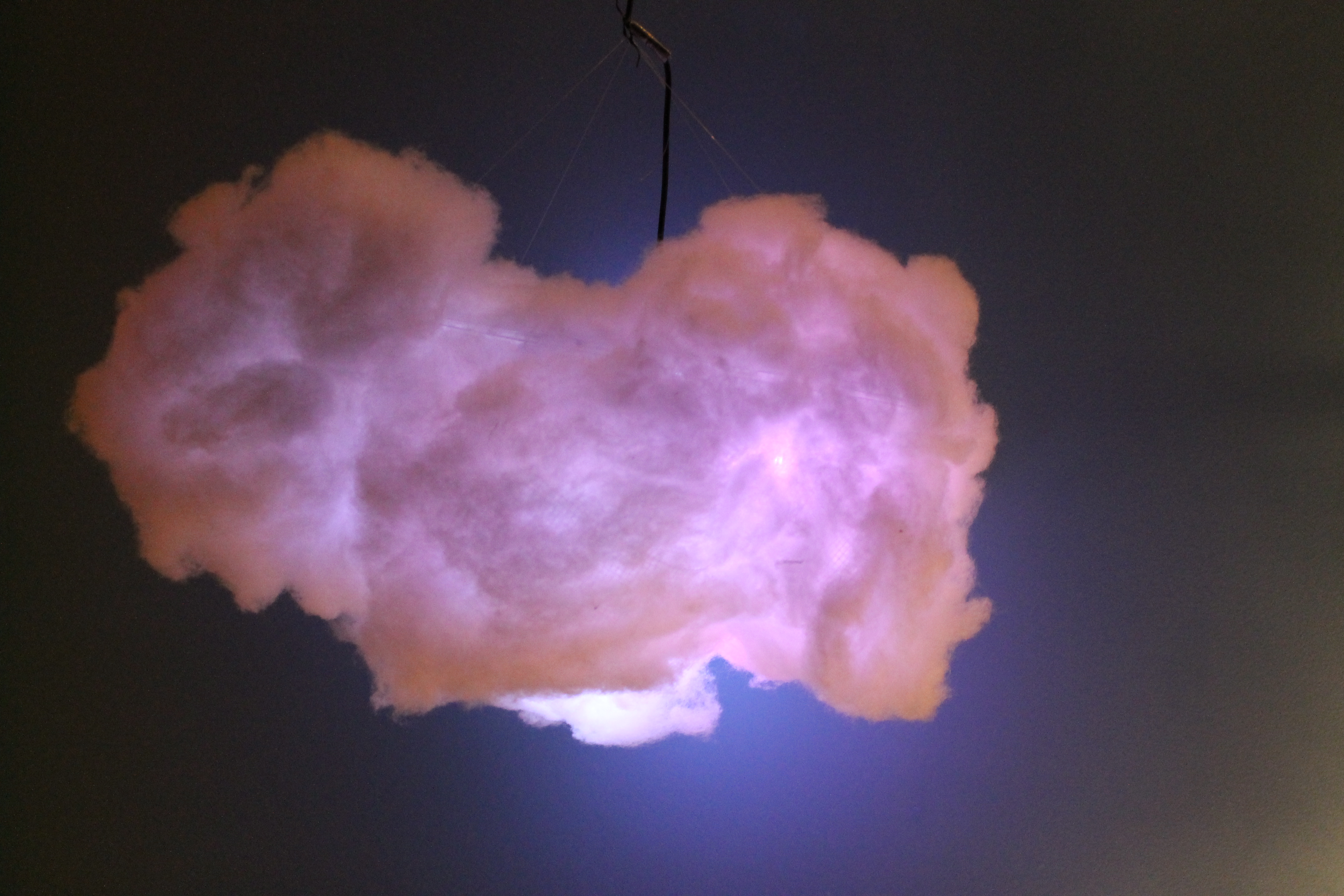 Picture of IR Remote Controlled Color Changing Cloud (Arduino)