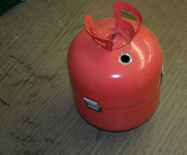 Gas Bottle Ball Grill