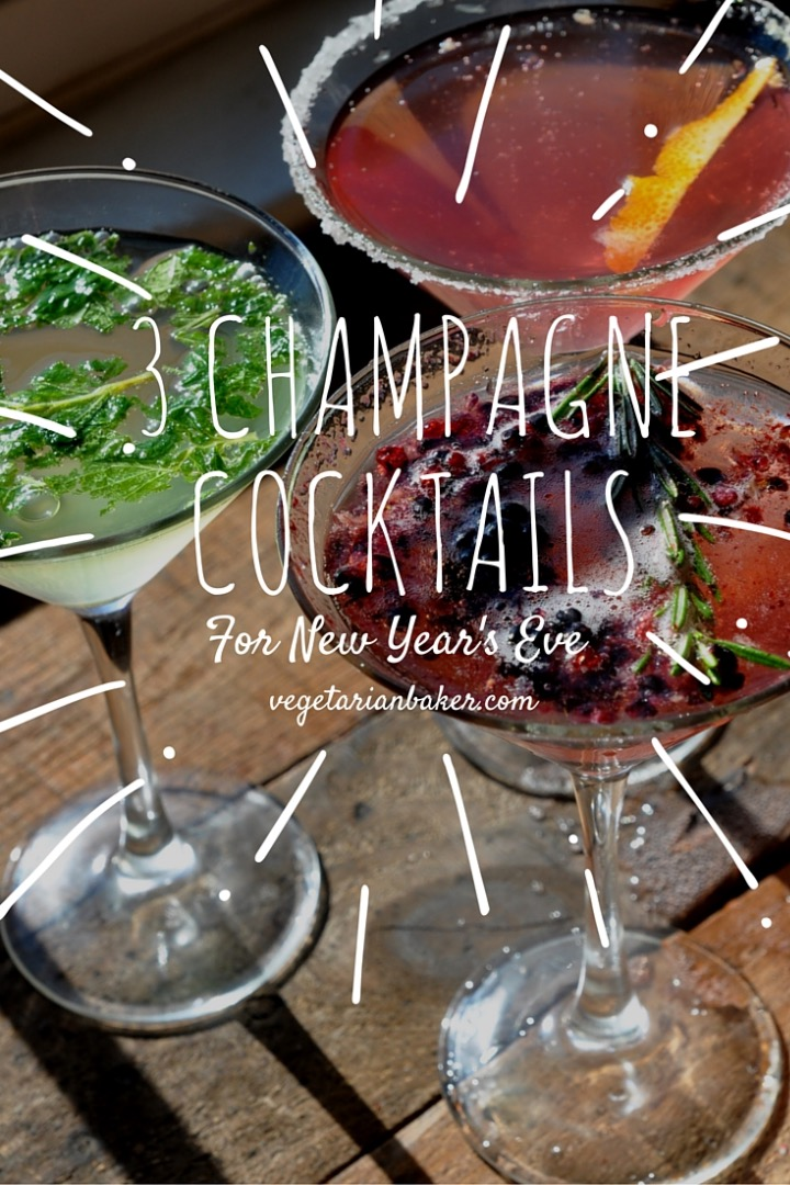 Picture of How to Make 3 Champagne Cocktails for New Year's Eve