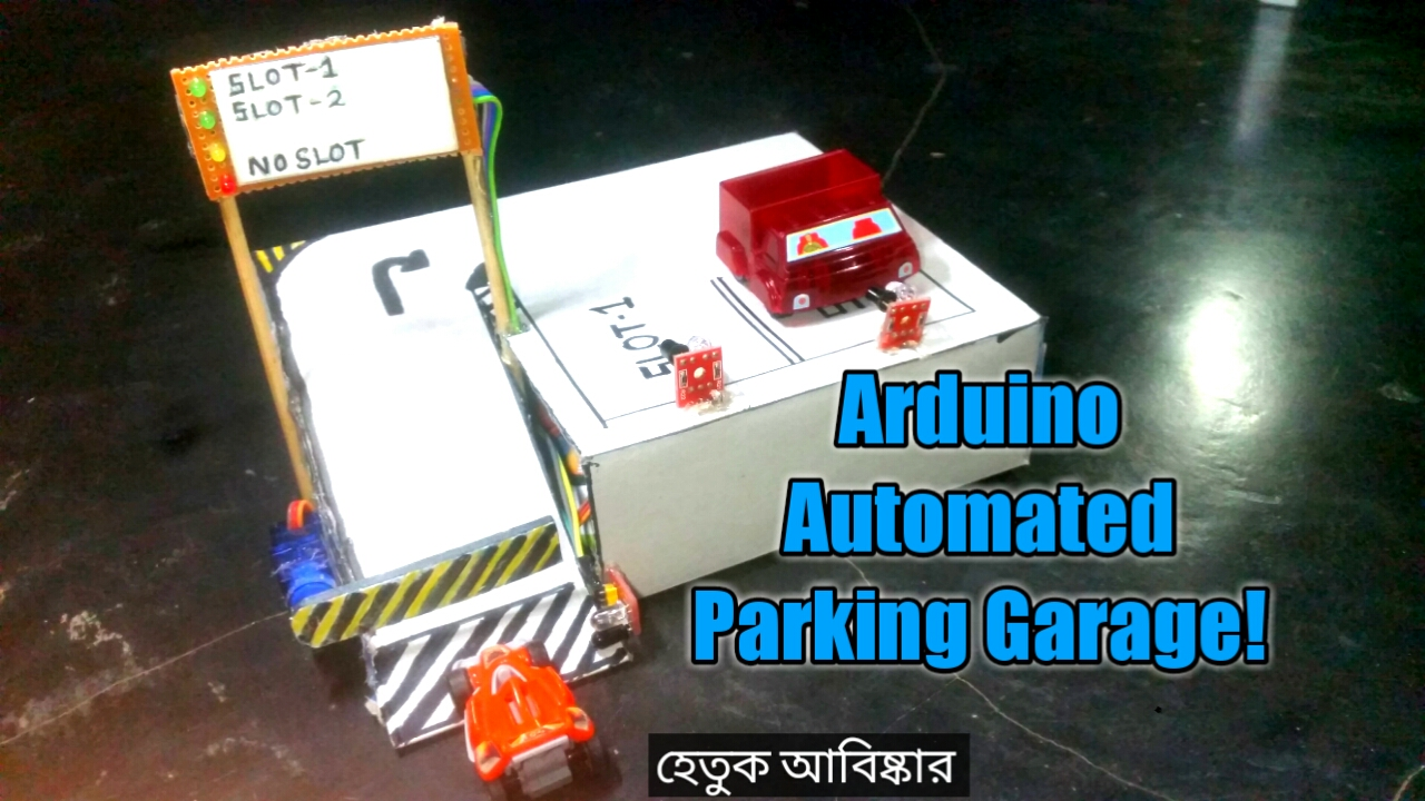 Picture of  Arduino Automated Car Parking System.