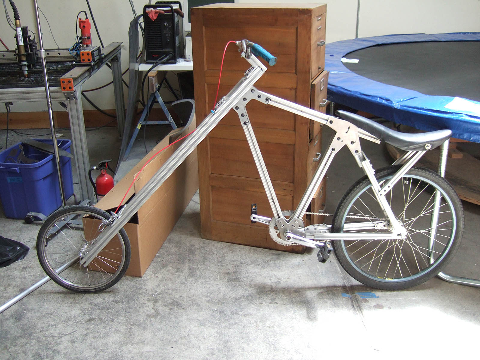 Picture of Assembling the 8020 Chopper
