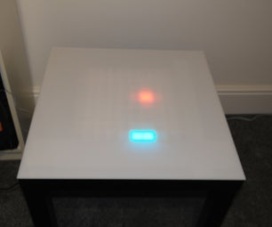 Bluetooth Controlled LED Snake Table