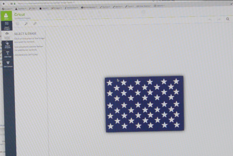 Picture of Paint the Union Star Rectangle