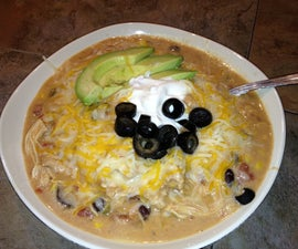 Souper Simple, Souper Delicious Slow Cooker Enchilada Soup (That really is a ONE pot meal!)