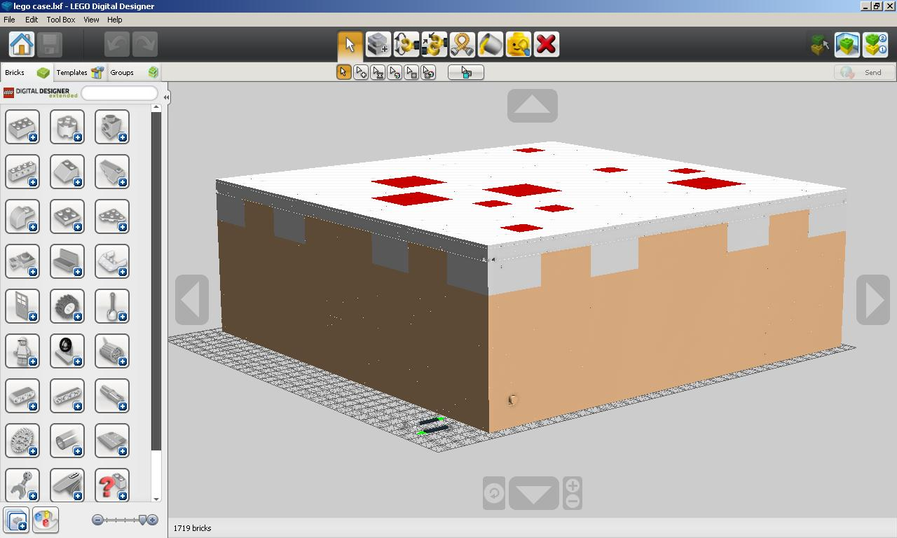 Legominecraft Case Mod