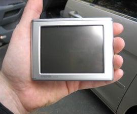 Dash mount for GPS