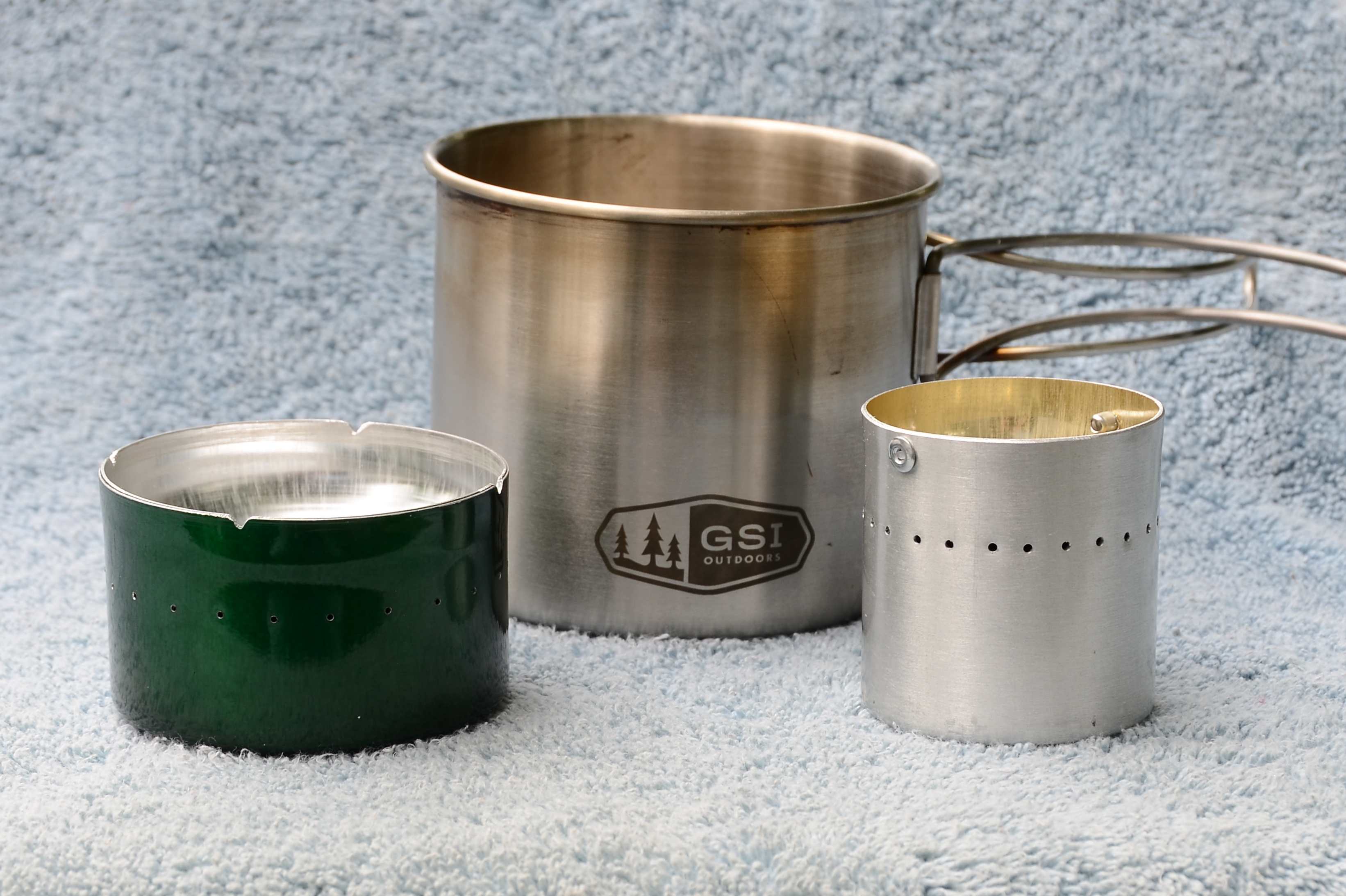 Picture of DIY Alcohol Stove for Heating the Water