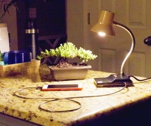 Add a USB Port to a Lamp