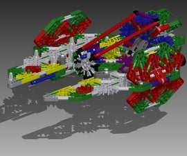 Knex Space Knight Star Fighter
