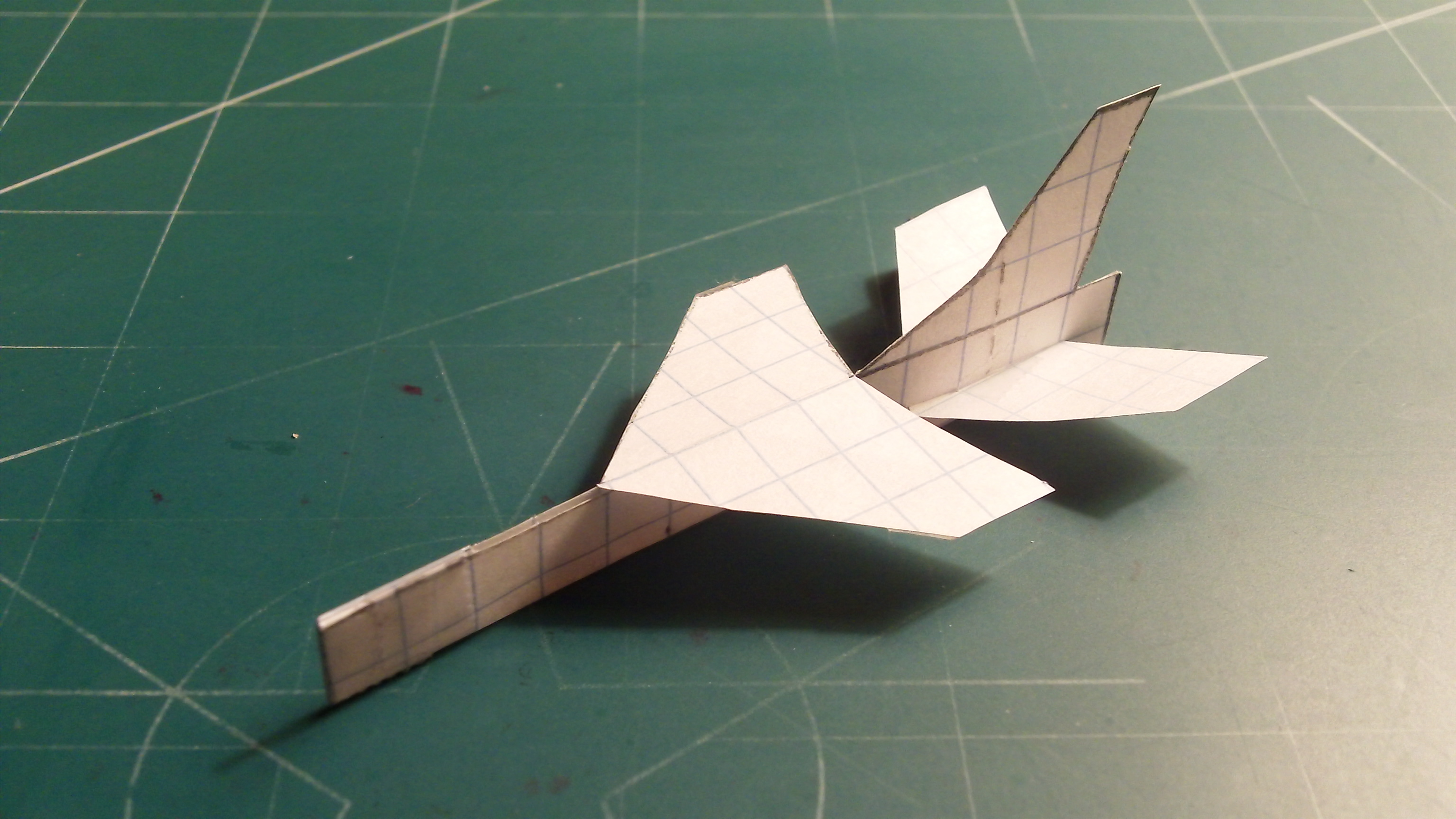 Picture of How to Make the Vought F-8 Crusader Paper Airplane