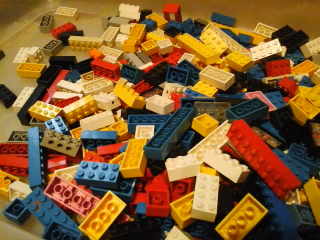 Picture of Panning for Bricks,  Lego Bricks