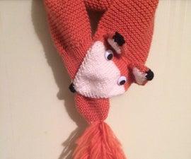 Knit a Fox Scarf! (and polish those knitting skills)